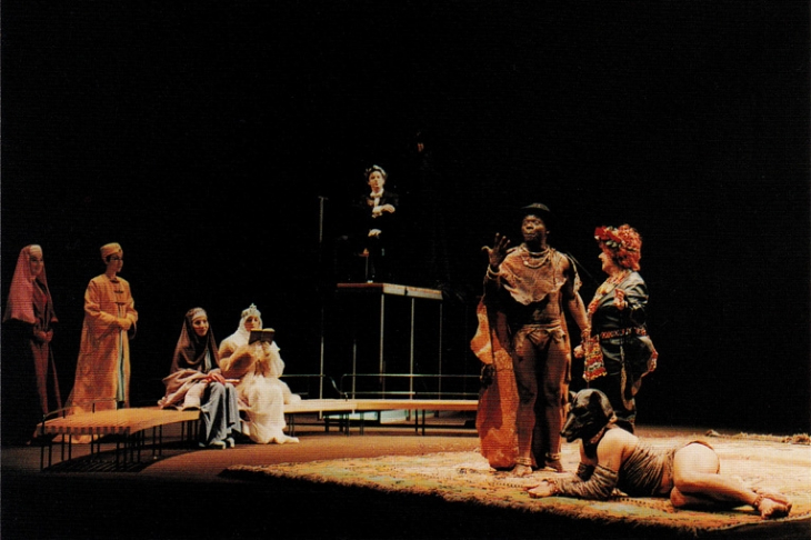 Scénographie : <strong>Antonio Lagarto</strong> - Mise en scène : Ricardo Pais - Théâtre national de Porto  - 1996