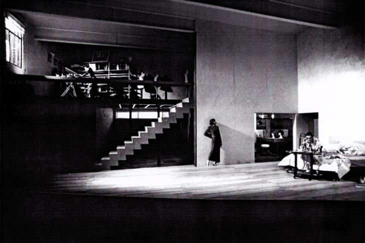 Scénographie : <strong>Chantal Thomas</strong> - Mise en scène : Michel Hermon - Théâtre national de la Colline - 1995