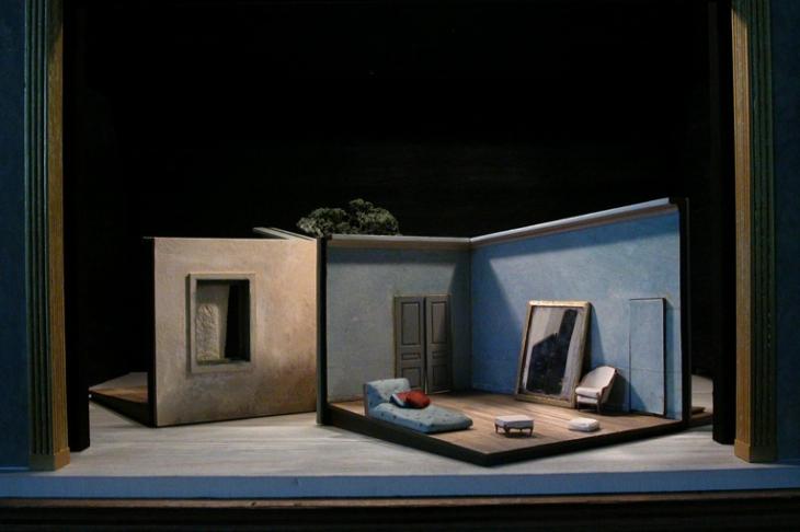 Scénographie :<strong> Jacques Gabel </strong>- Mise en scène : Eric Génovèse - Théâtre des Champs Elysées - 2008